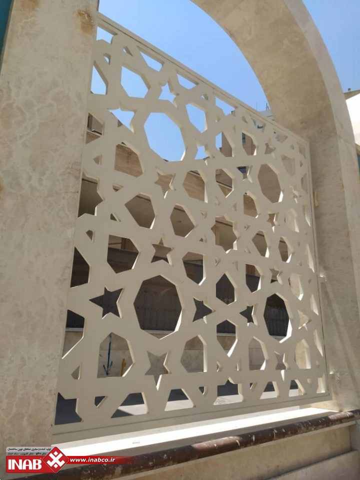 پنل جی اف ار سی هتل بزرگ امام رضا