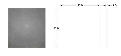پنل بتن اکسپوز نما 50 * 50 | پنل بتنی کف 50 * 50