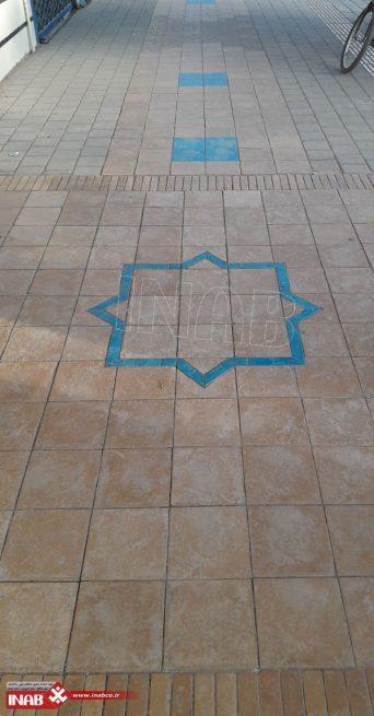 سنگ فرش طرح آجر