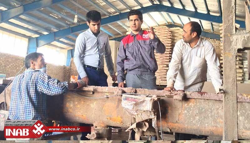 مصاحبه علی معقولی مدیر عامل گروه ایناب با روزنامه قدس