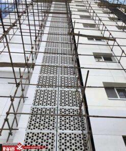 پنل جی اف ار سی gfrc | پروژه بزرگ آپاسای مشهد