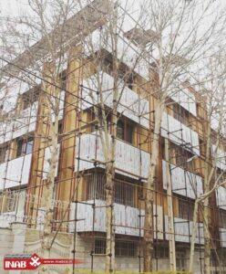 بازسازی نمای ساختمان   اجرای نمای کامپوزیت