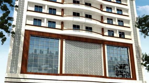 طراحی نمای هتل آکام |نمای هتل