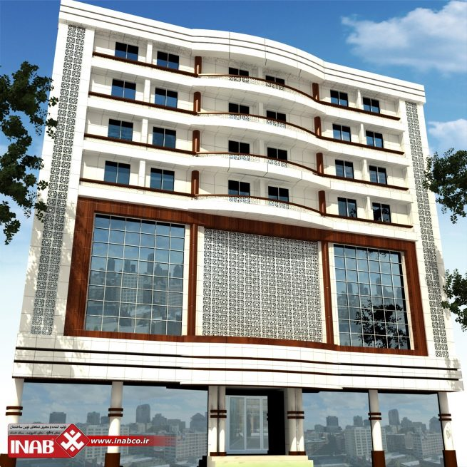 نمای ساختمان هتل آکام