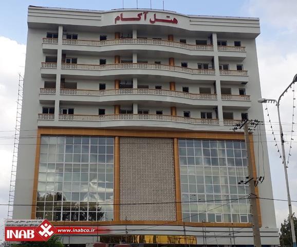 نمای ساختمان هتل | gfrc