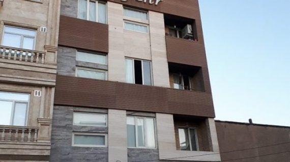 نمای ساختمان فاروج | نمای کامپوزیت فاروج