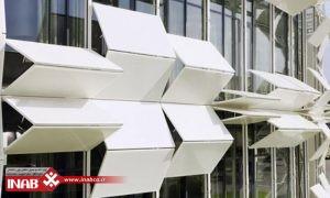 نمای دینامیک |خلاقیت در طراحی نمای ساختمان | نمای ساختمان