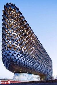 طراحی نمای دینامیک | خلاقیت در طراحی نمای ساختمان | نمای ساختمان