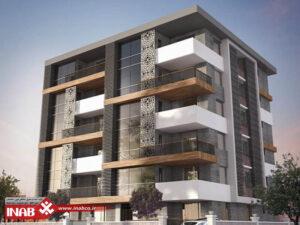 نمای مدرن | نمای ساختمان مسکونی