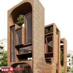 خلاقیت در طراحی نمای ساختمان   نمای ساختمان