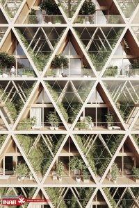 خلاقیت در طراحی نمای ساختمان | نمای ساختمان