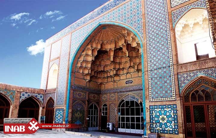 نمای ساختمان مسجد