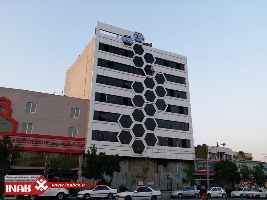 طراحی نمای ساختمان   ایده نمای ساختمان