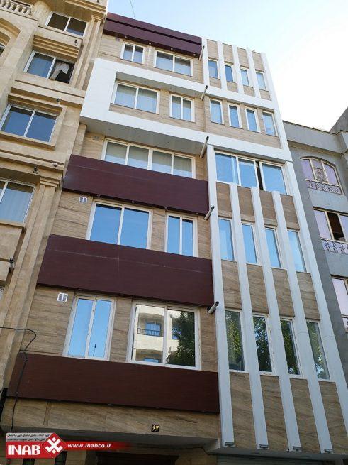 نمای ساختمان مسکونی   طرح نمای ساختمان مسکونی