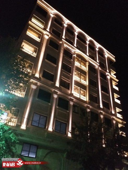 نمای ساختمان مسکونی | پنج طبقه