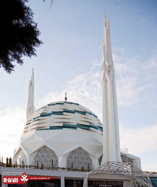 نمای مسجد | نمای جی اف ار سی gfrc