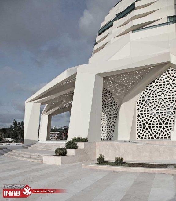نمای مسجد | نمای جی ار سی gfrc