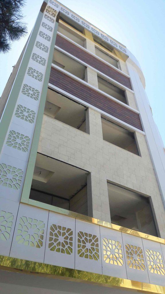 نمای ساختمان قوچان