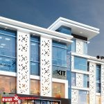 نمای ساختمان تجاری   طراحی نمای تجاری