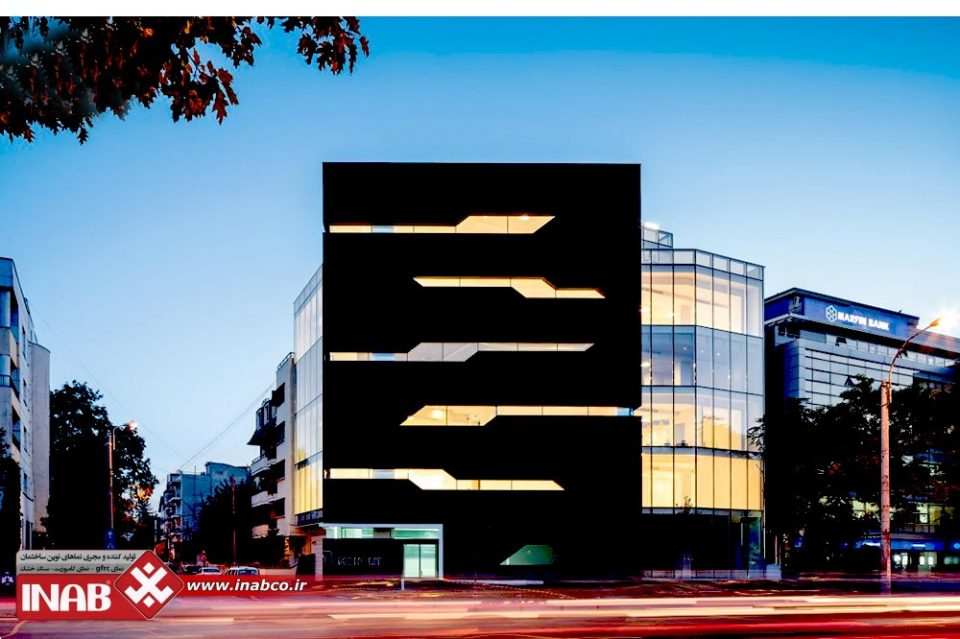 نمای ساختمان تجاری | انواع نماهای ساختمان های تجاری