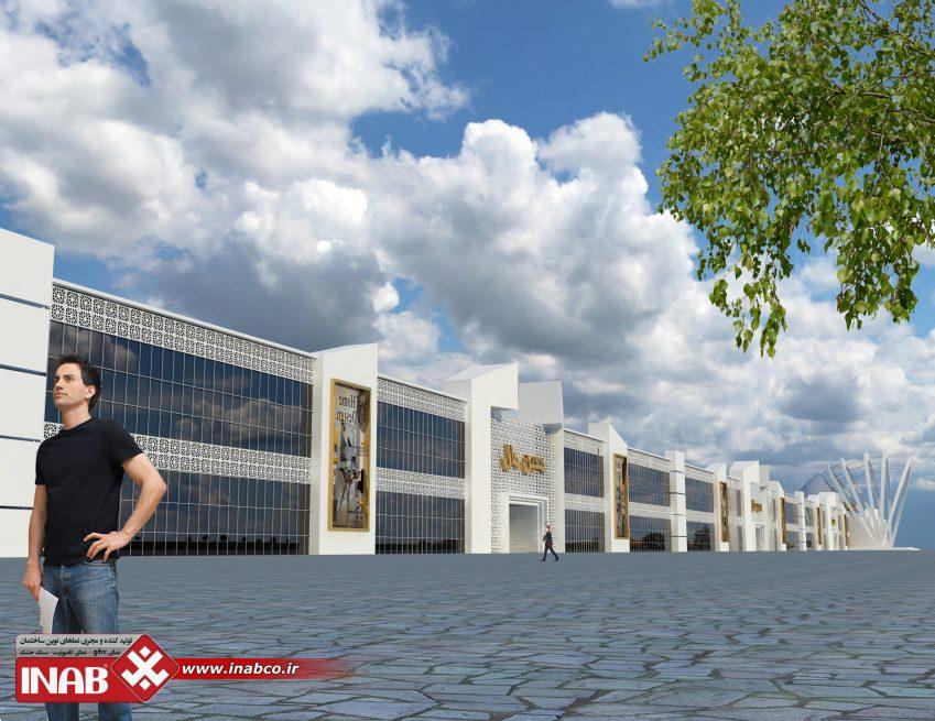 نمای ساختمان gfrc