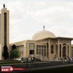 نمای مسجد | جی ار سی | gfrc | grc