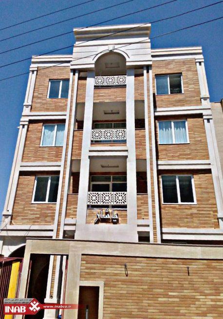طرح نمای ساختمان جی اف ار سی grc | gfrc