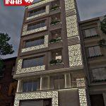 طرح نمای ساختمان