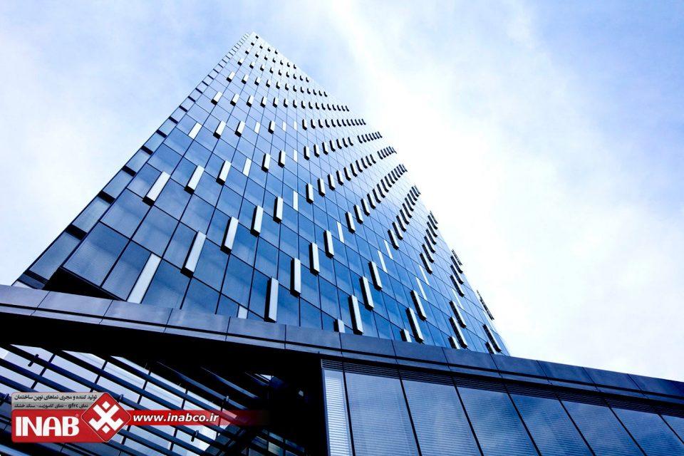نمای ساختمان تجاری | نمای بیمارستان | نمای ساختمان اداری | کرتین وال
