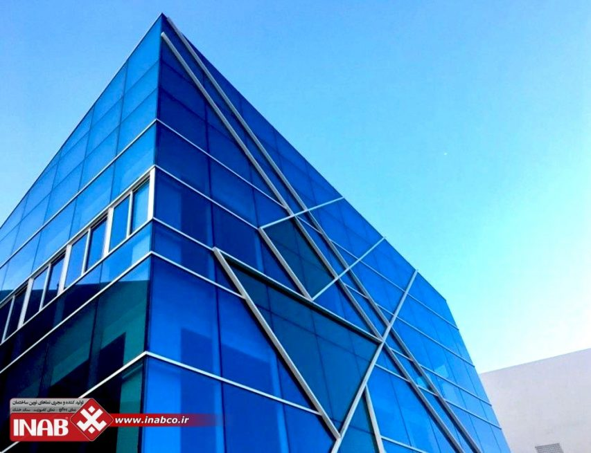 نمای شیشه ای | نمای ساختمان شیشه | نمای شیشه ای ساختمان