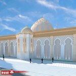 نمای ساختمان مسجد   مساجد مدرن