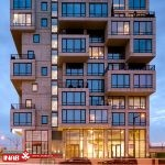 خلاقیت در خلق و طراحی نمای ساختمان
