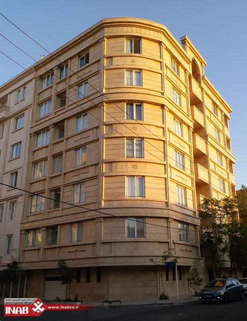 طرح نمای ساختمان مسکونی