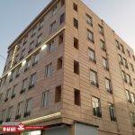 نمای ساختمان 5 طبقه مسکونی