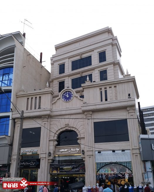 نمای ساختمان تجاری | پاساژ تجاری