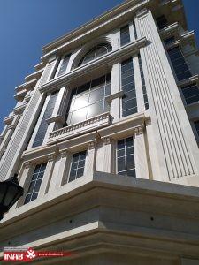 نمای ساختمان هتل ترکیبی