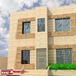 طراحی نمای ساختمان ویلایی
