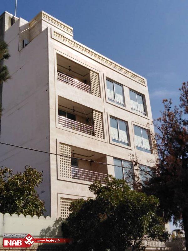 نمای ساختمان مسکونی |  GFRC | GRC