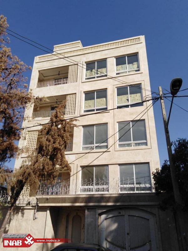 نمای ساختمان مسکونی | سنگ | جی اف ار سی | GFRC | GRC