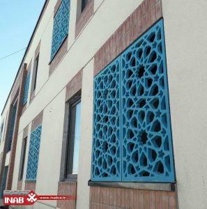 نمای جی اف ار سی   زائرسرای مشهد