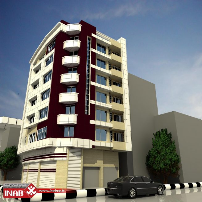 طراحی نمای ساختمان | مسکونی | اداری | تجاری