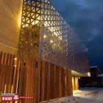 ایده نمای ساختمان | نمای مشبک | جی اف ار سی