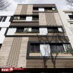 نمای مدرن   نمای آجری مدرن   مسکونی