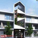 نمای ساختمان مدرن   اداری   تجاری