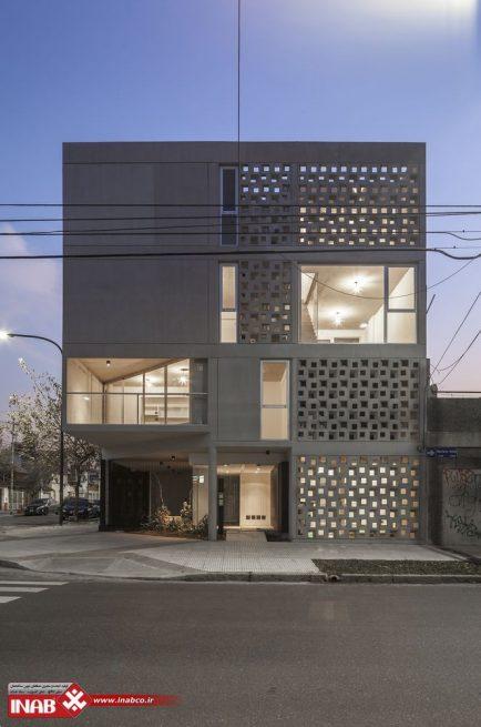 نمای مدرن | جی اف ار سی | مسکونی دو طبقه