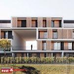 نمای ساختمان مدرن | نمای جی اف ار سی