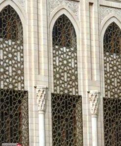 نمای مسجد | نمای اسلامی | جی اف ار سی | gfrc | grc