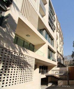 نمای ساختمان مشبک   نمای جی اف ار سی