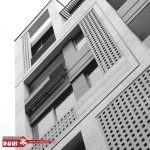 نمای ساختمان مشبک | نمای جی ار سی