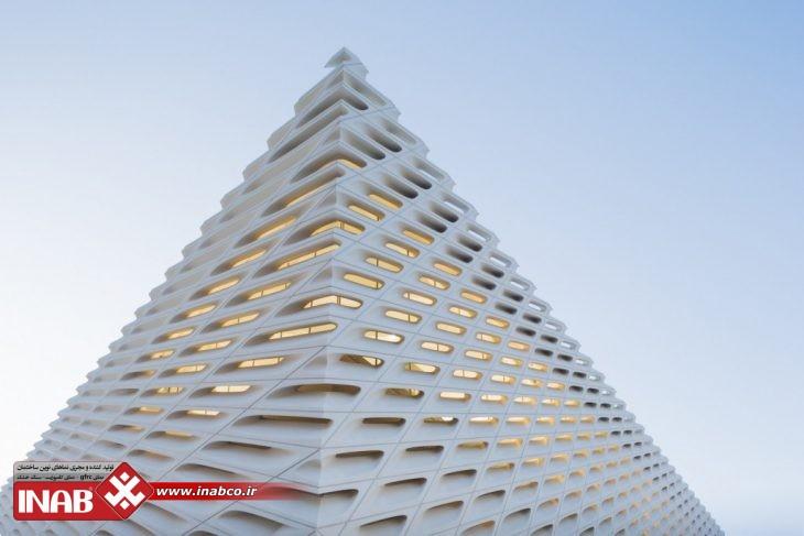 نمای ساختمان تجاری | پنل جی اف ار سی